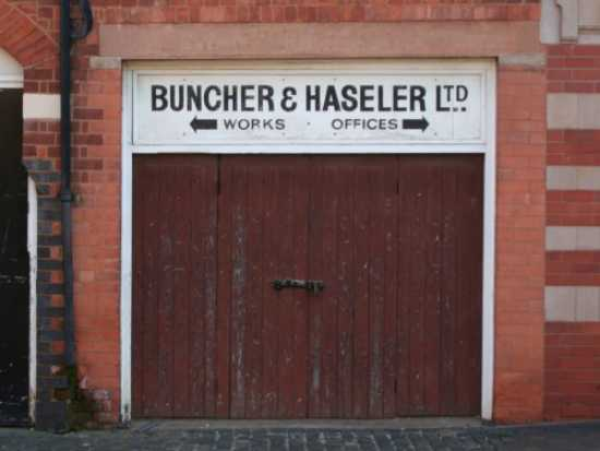 My grandfather s factory - Buncher and Haseler