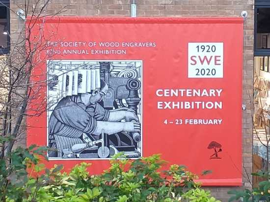 Society of Wood Engravers Centenary Exhibition, Bankside, London