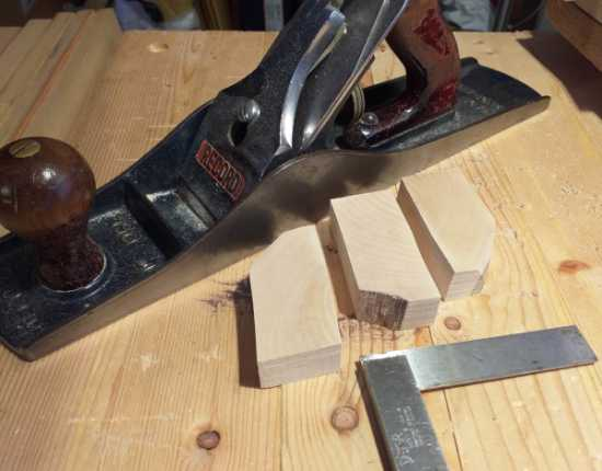 Holly tree blocks and tools, for block making