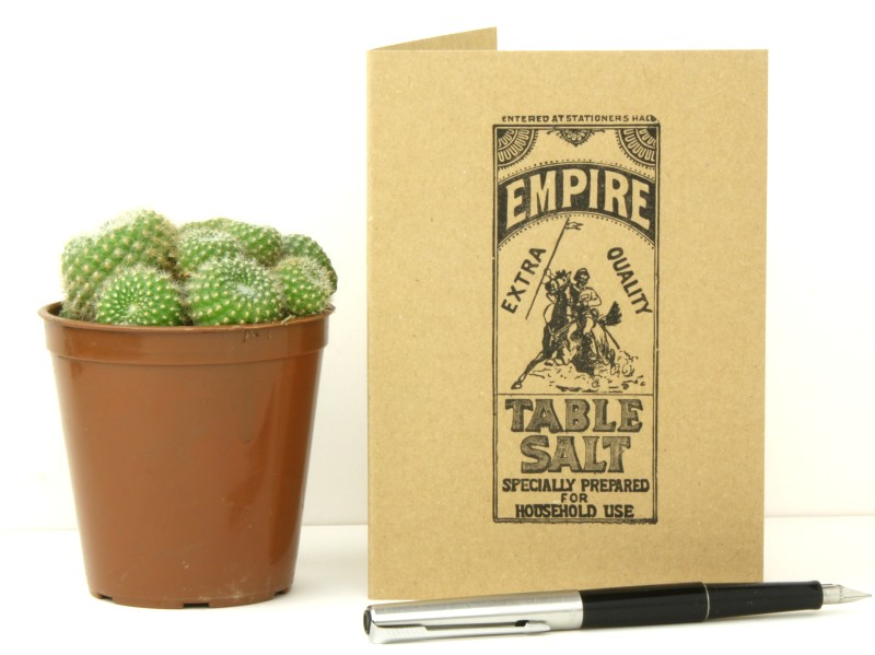 Empire Table Salt Vintage Print